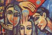 لوحة لابراهيم جبرا